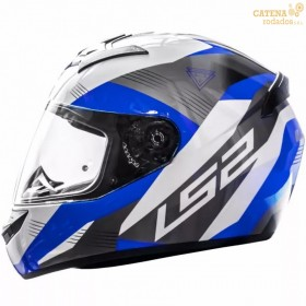 Casco 352 Trooper Blanco Azul