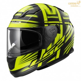 Casco 320 Bang Negro Amarillo