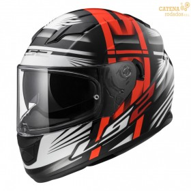 Casco 320 Bang Black Rojo